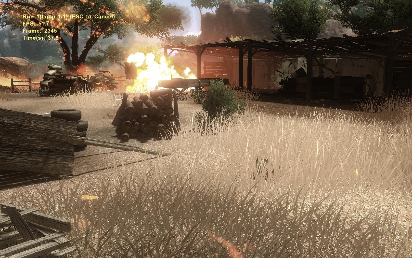 中国 进化/《Crysis:Warhead》测试结果(越大越好)