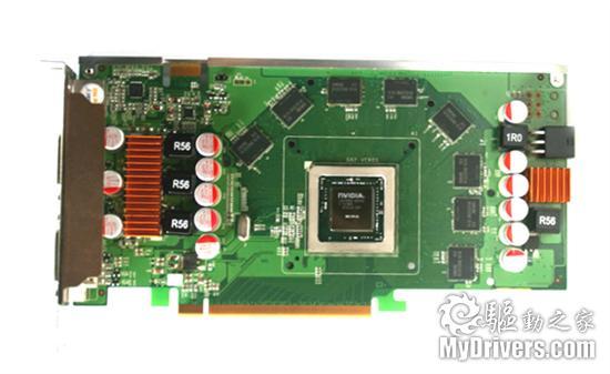 测试&评论  另外一相供电电路位于显卡末端,主要负责向显存供电,其mos